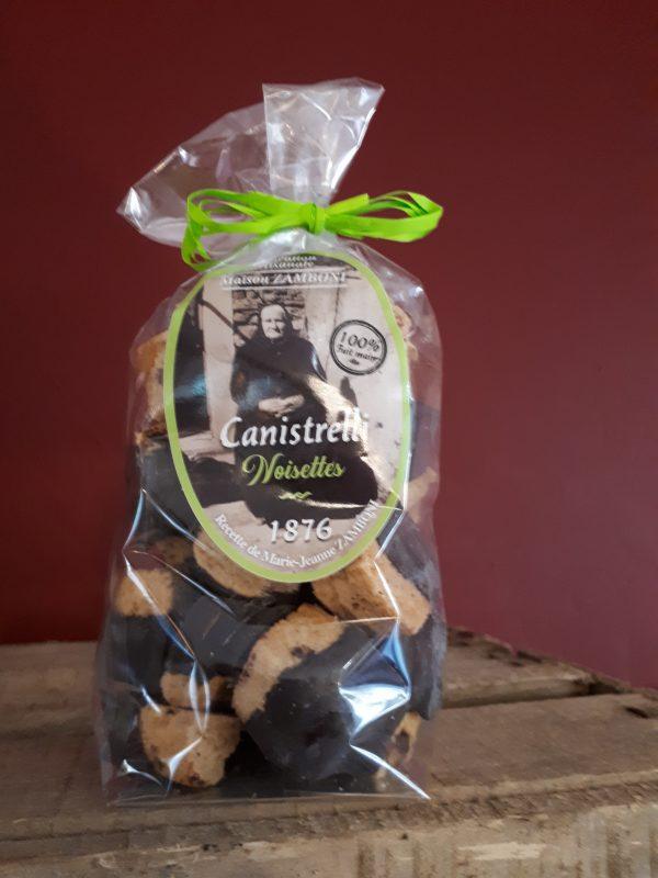 canistrelli noisette chocolat